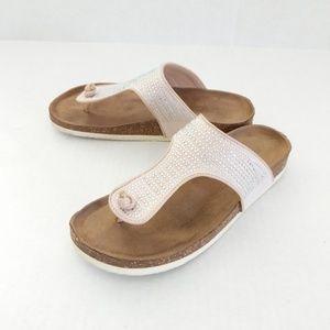 Madeline Stuart Salty Sandals size 7W
